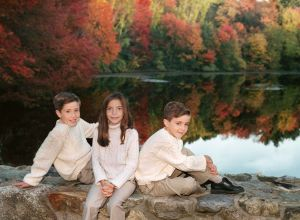 Siblings in the Autumn