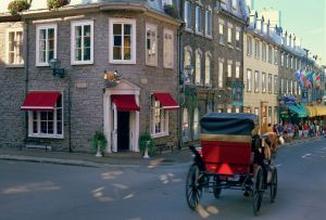 A Carriage Ride Down Old Quebec