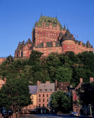 Upper and Lower Quebec City